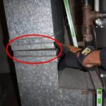 Sample of Furnace issue during a home inspection